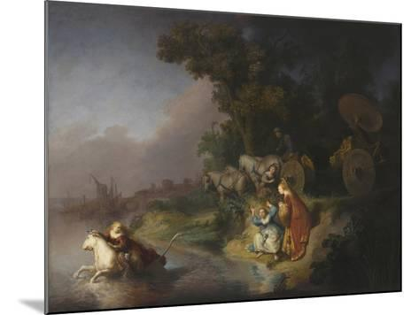 The Abduction of Europa, 1632-Rembrandt van Rijn-Mounted Giclee Print