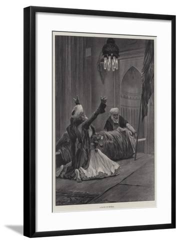 A Prayer for Revenge-Richard Caton Woodville II-Framed Art Print