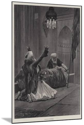 A Prayer for Revenge-Richard Caton Woodville II-Mounted Giclee Print