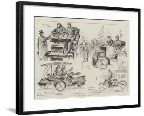 The Second Annual Meet of the Motor Car Club-Ralph Cleaver-Framed Art Print