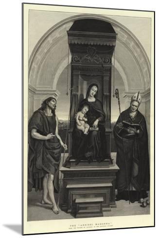 The Ansidei Madonna-Raphael-Mounted Giclee Print