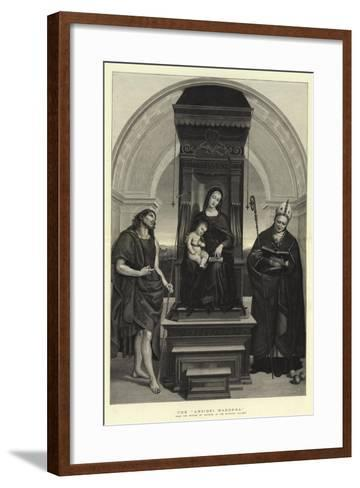 The Ansidei Madonna-Raphael-Framed Art Print