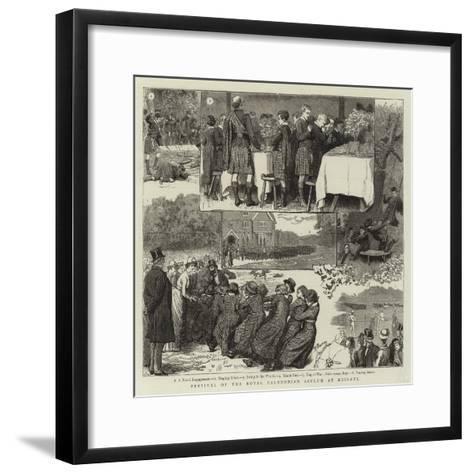 Festival of the Royal Caledonian Asylum at Reigate-Robert Barnes-Framed Art Print