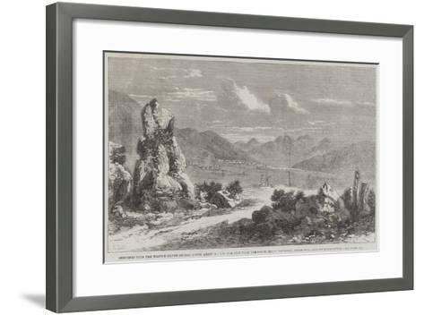 Sketches from the Washoe Silver Region-Richard Principal Leitch-Framed Art Print