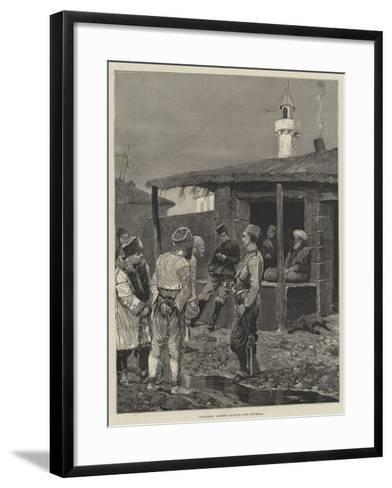 Bulgarian Bandits Brought into Roumelia-Richard Caton Woodville II-Framed Art Print