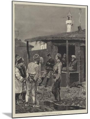 Bulgarian Bandits Brought into Roumelia-Richard Caton Woodville II-Mounted Giclee Print