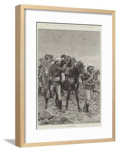 The Khartoum Relief Expedition-Richard Caton Woodville II-Framed Art Print