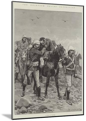 The Khartoum Relief Expedition-Richard Caton Woodville II-Mounted Giclee Print