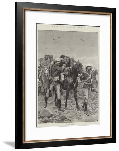 The Khartoum Relief Expedition-Richard Caton Woodville II-Framed Art Print