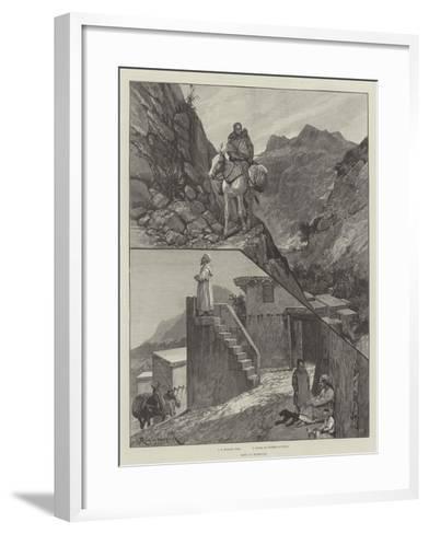 Life in Morocco-Richard Caton Woodville II-Framed Art Print