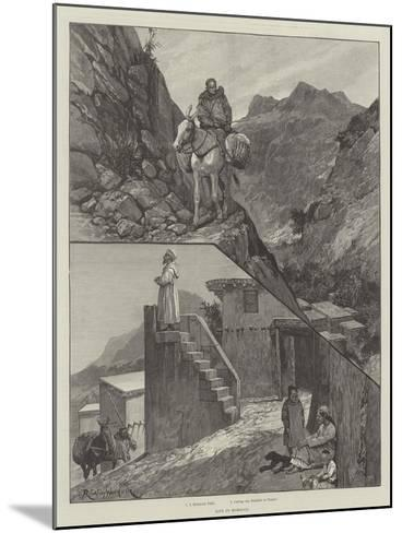 Life in Morocco-Richard Caton Woodville II-Mounted Giclee Print