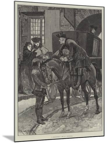 A Recognition-Richard Caton Woodville II-Mounted Giclee Print