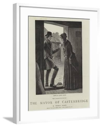 The Mayor of Casterbridge-Robert Barnes-Framed Art Print