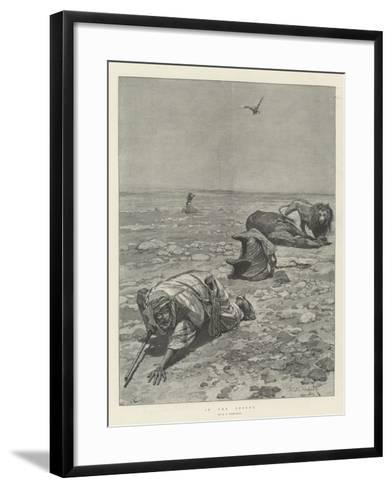 In the Desert-Richard Caton Woodville II-Framed Art Print