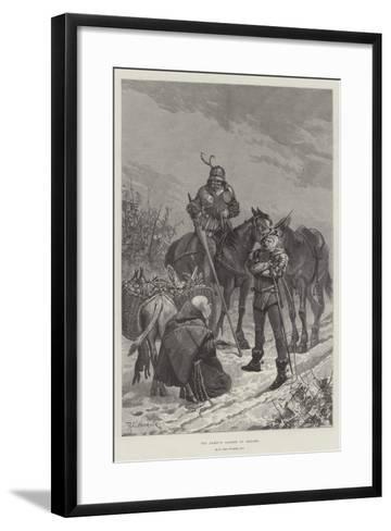 The Abbot's Larder in Danger-Richard Caton Woodville II-Framed Art Print