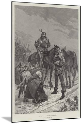 The Abbot's Larder in Danger-Richard Caton Woodville II-Mounted Giclee Print