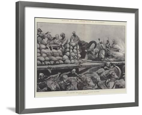 Battles of the British Army, Plassey-Richard Caton Woodville II-Framed Art Print