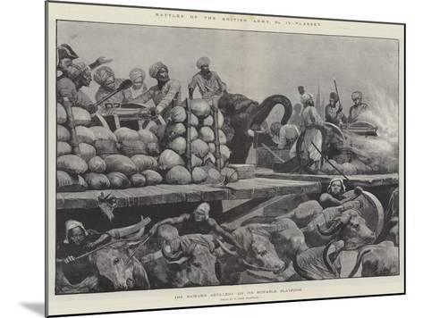 Battles of the British Army, Plassey-Richard Caton Woodville II-Mounted Giclee Print