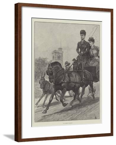 The Queen's Highway-Richard Caton Woodville II-Framed Art Print