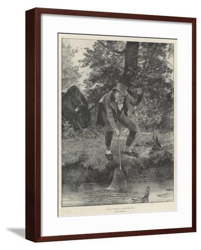 Between the Devil and the Deep Sea-Richard Caton Woodville II-Framed Art Print