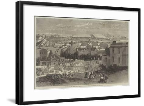 Showyards of the Royal Agricultural Society of England at Plymouth-Richard Principal Leitch-Framed Art Print