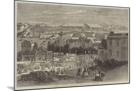 Showyards of the Royal Agricultural Society of England at Plymouth-Richard Principal Leitch-Mounted Giclee Print