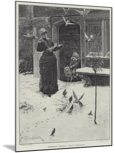 Christmas Morning, Early Breakfast-Richard Caton Woodville II-Mounted Giclee Print