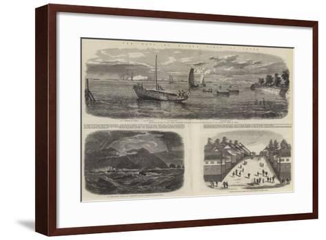 The Earl of Elgin's Visit to Japan-Richard Principal Leitch-Framed Art Print