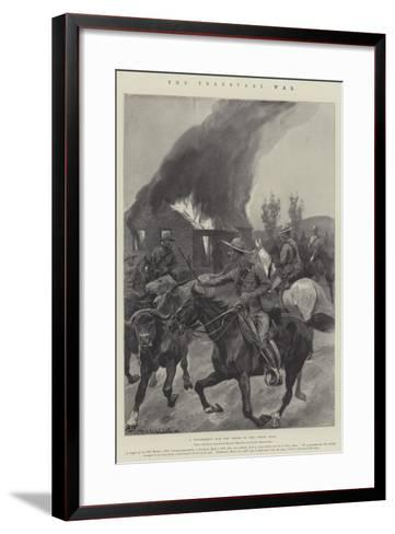 The Transvaal War-Richard Caton Woodville II-Framed Art Print