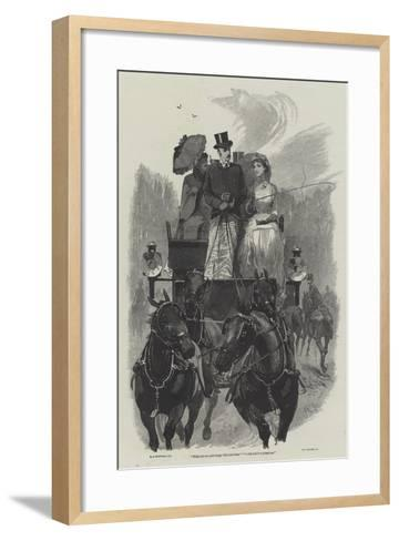 Eyre's Acquittal-Richard Caton Woodville II-Framed Art Print