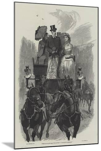 Eyre's Acquittal-Richard Caton Woodville II-Mounted Giclee Print