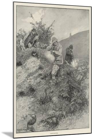 Rabbit-Shooting-Richard Caton Woodville II-Mounted Giclee Print