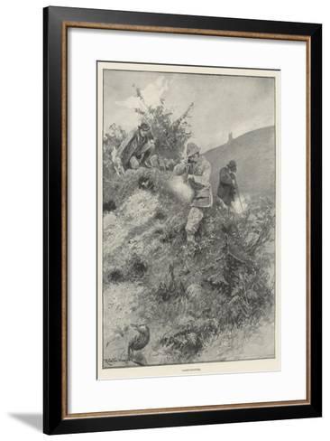 Rabbit-Shooting-Richard Caton Woodville II-Framed Art Print