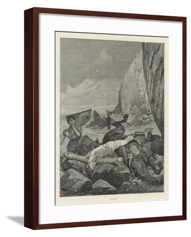 Found!-Richard Caton Woodville II-Framed Art Print