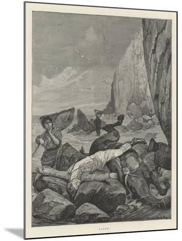 Found!-Richard Caton Woodville II-Mounted Giclee Print