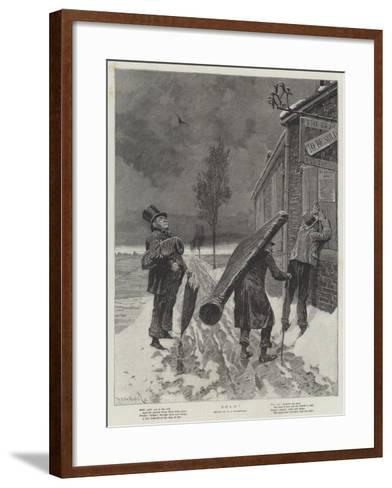 Sold!-Richard Caton Woodville II-Framed Art Print