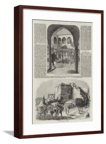 Sketches in Algeria-Richard Principal Leitch-Framed Art Print
