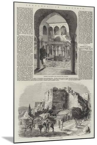 Sketches in Algeria-Richard Principal Leitch-Mounted Giclee Print