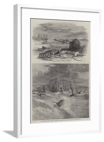The Recent Gale-Richard Principal Leitch-Framed Art Print