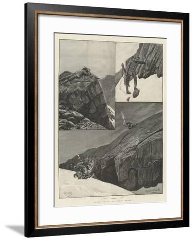 After Rocky Mountain Sheep-Richard Caton Woodville II-Framed Art Print
