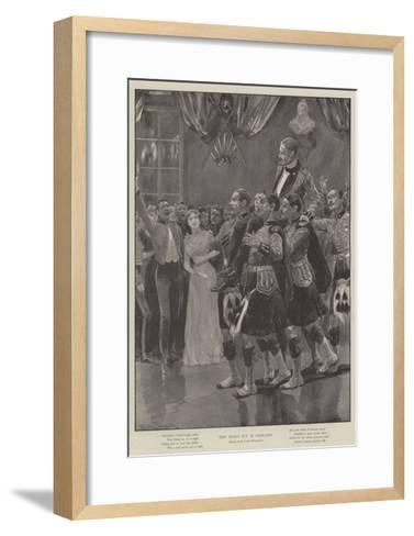 New Year's Eve in Barracks-Richard Caton Woodville II-Framed Art Print