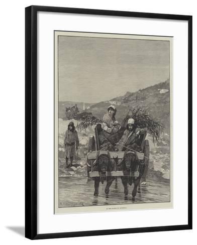 In the Plains of Roumelia-Richard Caton Woodville II-Framed Art Print