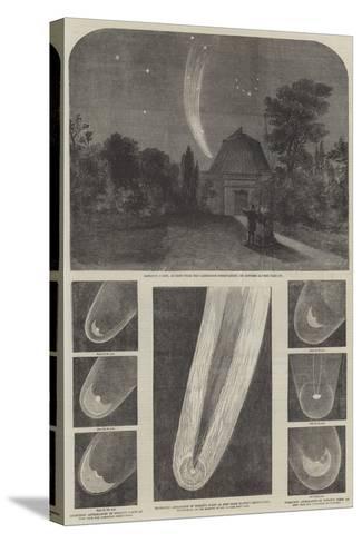 Donati's Comet-Richard Principal Leitch-Stretched Canvas Print