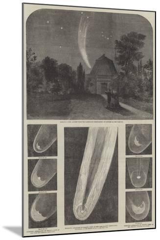 Donati's Comet-Richard Principal Leitch-Mounted Giclee Print