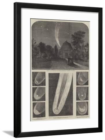 Donati's Comet-Richard Principal Leitch-Framed Art Print