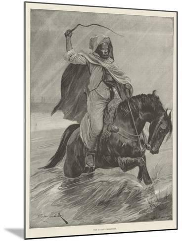 The Sultan's Messenger-Richard Caton Woodville II-Mounted Giclee Print