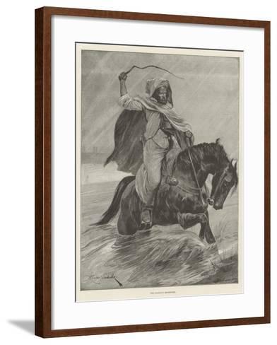The Sultan's Messenger-Richard Caton Woodville II-Framed Art Print