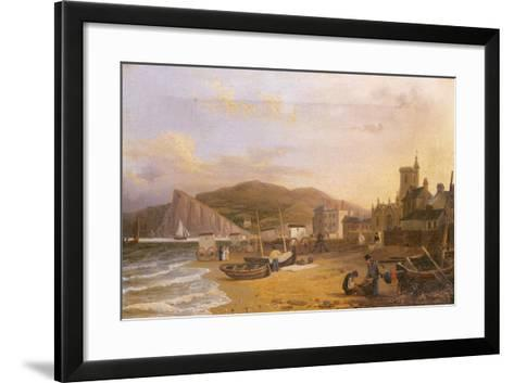 General View of Teignmouth, 1820-Richard Hume Lancaster-Framed Art Print