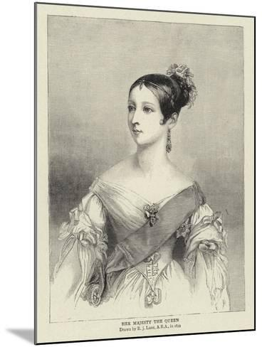 Her Majesty the Queen-Richard James Lane-Mounted Giclee Print