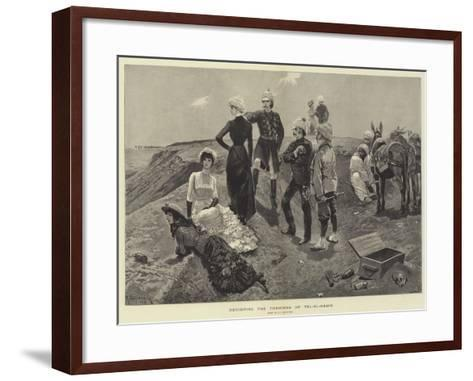 Revisiting the Trenches of Tel-El-Kebir-Richard Caton Woodville II-Framed Art Print